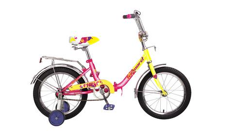 Forward Racing 16 Girl compact (2015) желтый с розовым