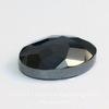 Кабошон овальный Гематит немагнитный с огранкой, 18х13х5 мм