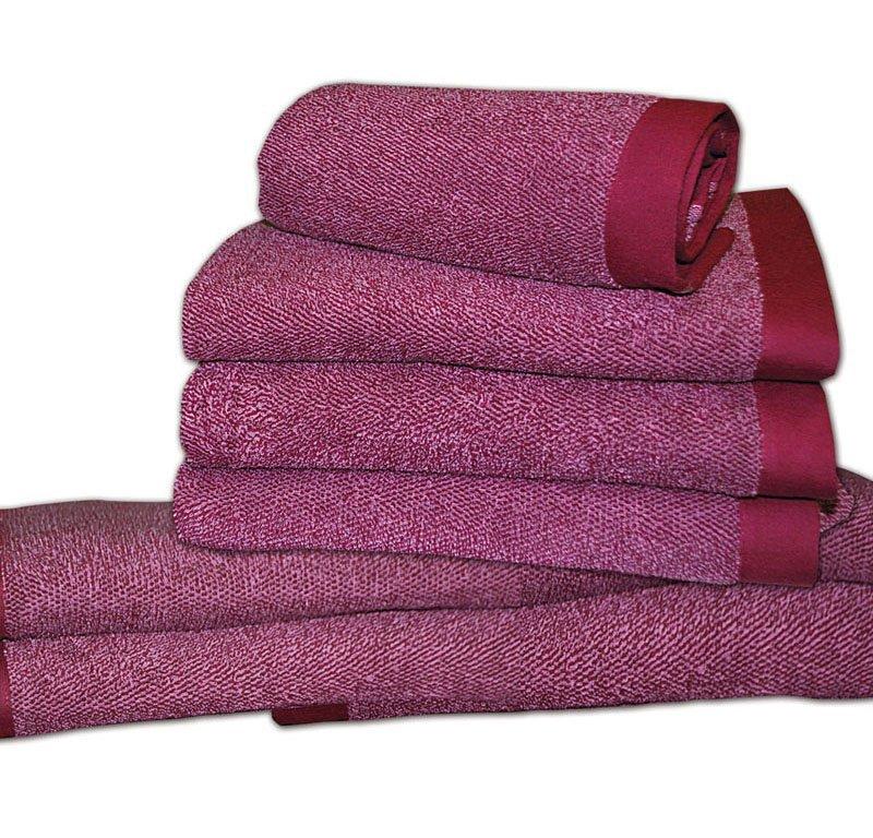 Наборы полотенец Набор полотенец 2 шт Caleffi Melange коричневый elitnye-polotentsa-mahrovye-melange-ot-caleffi-italiya.jpg