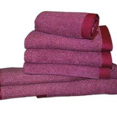 Набор полотенец 2 шт Caleffi Melange коричневый