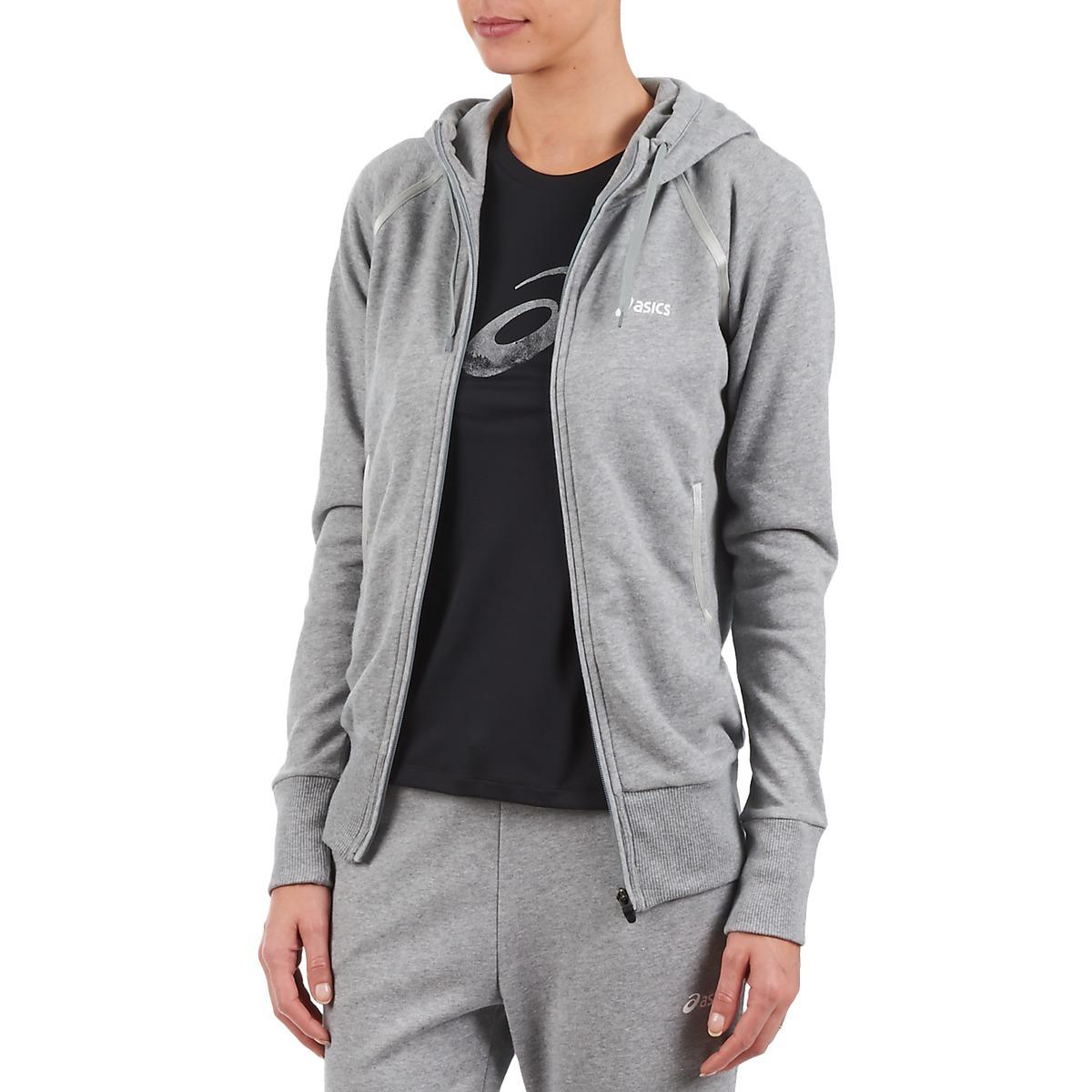 Женская толстовка асикс Knit Full Zip Hoodie Grey (109872 0714) фото