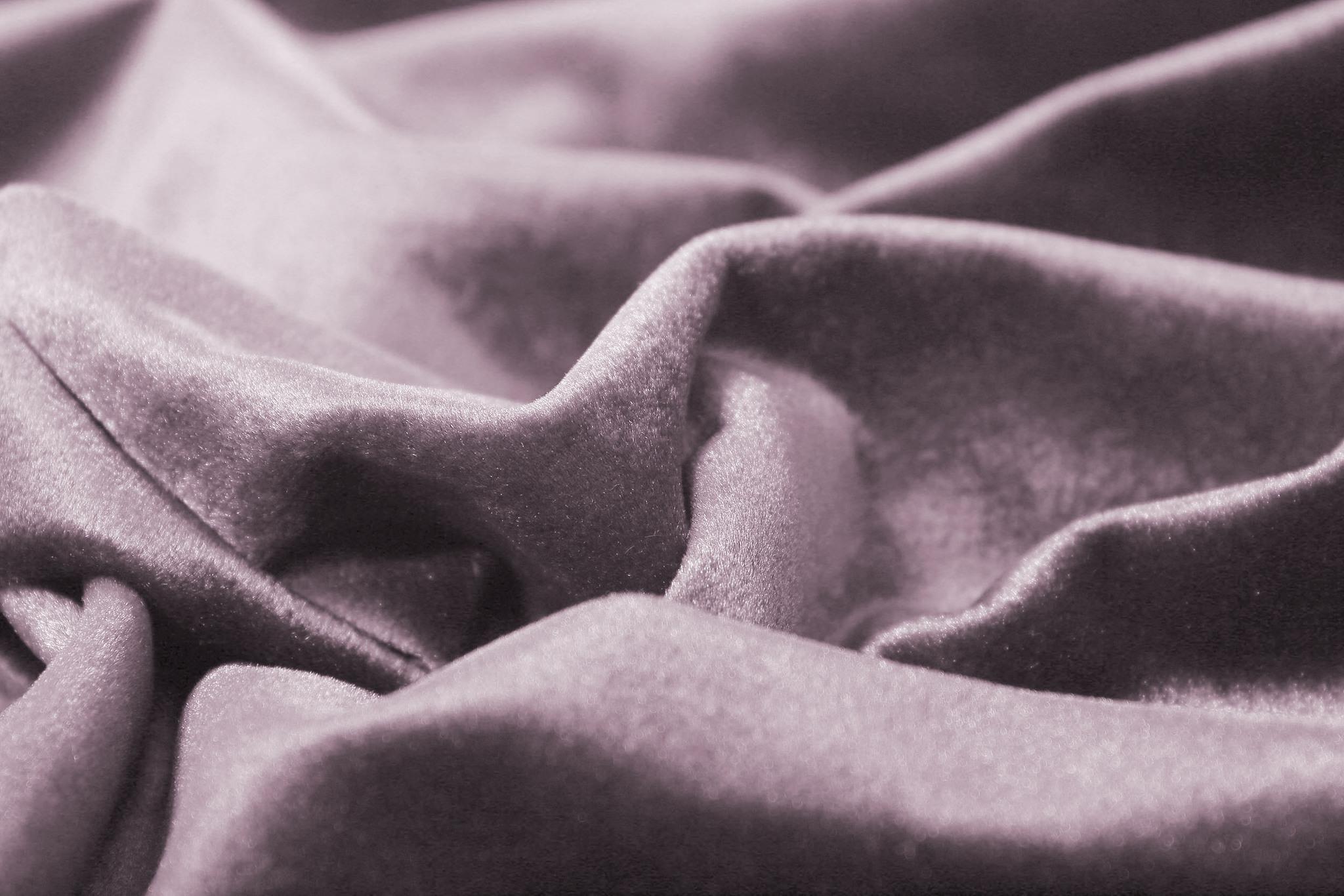 Velour (Seashell). Шторы из велюра из серии Luxe.