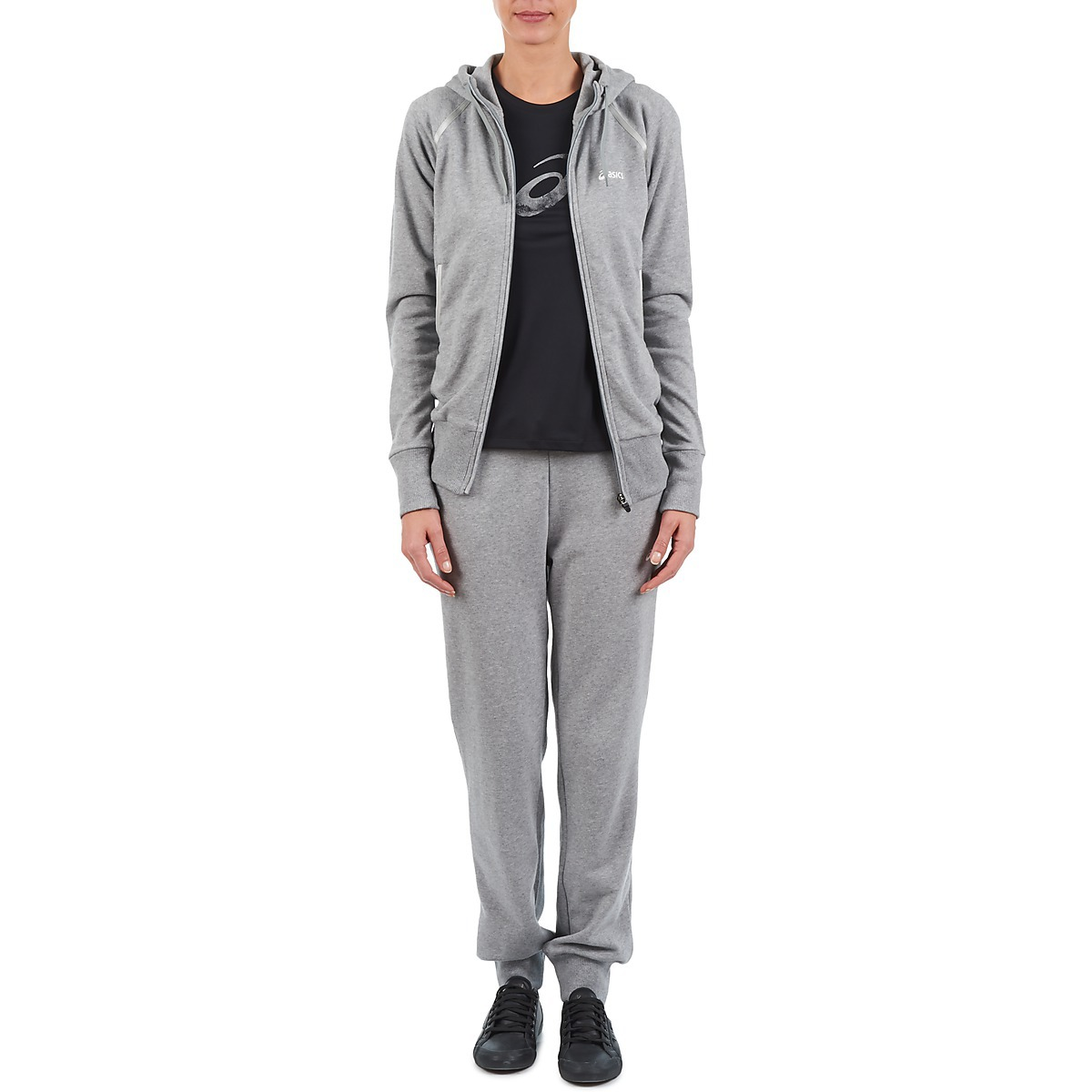 Женская толстовка асикс Knit Full Zip Hoodie Grey (109872 0714)