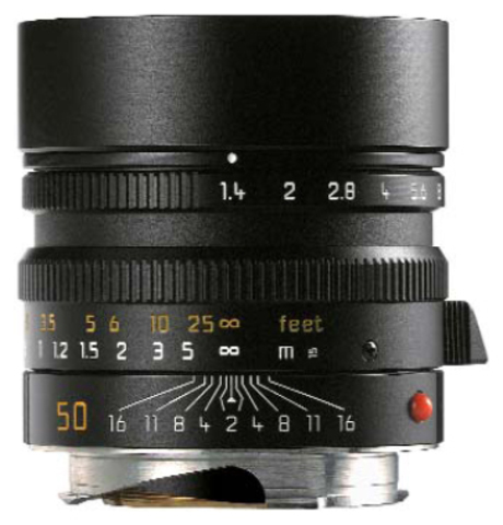 Leica Summilux-M 50mm f/1.4 ASPH (black)