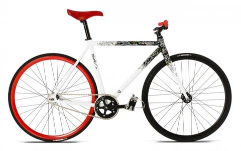 Orbea Dude A20 (2013) белый с красным