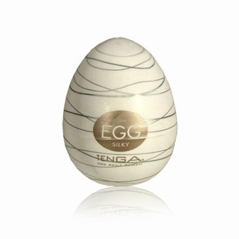 Мужской мастурбатор Tenga Egg Silky