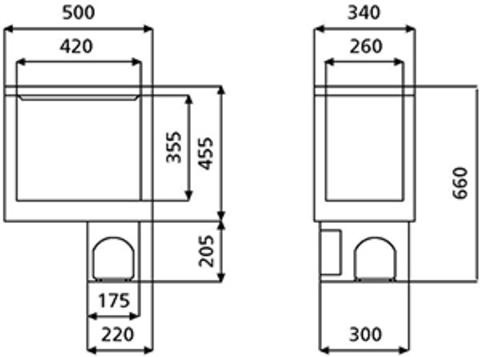 Компрессорный холодильник (выдвижной) WAECO CoolMatic CB-40 (40л)