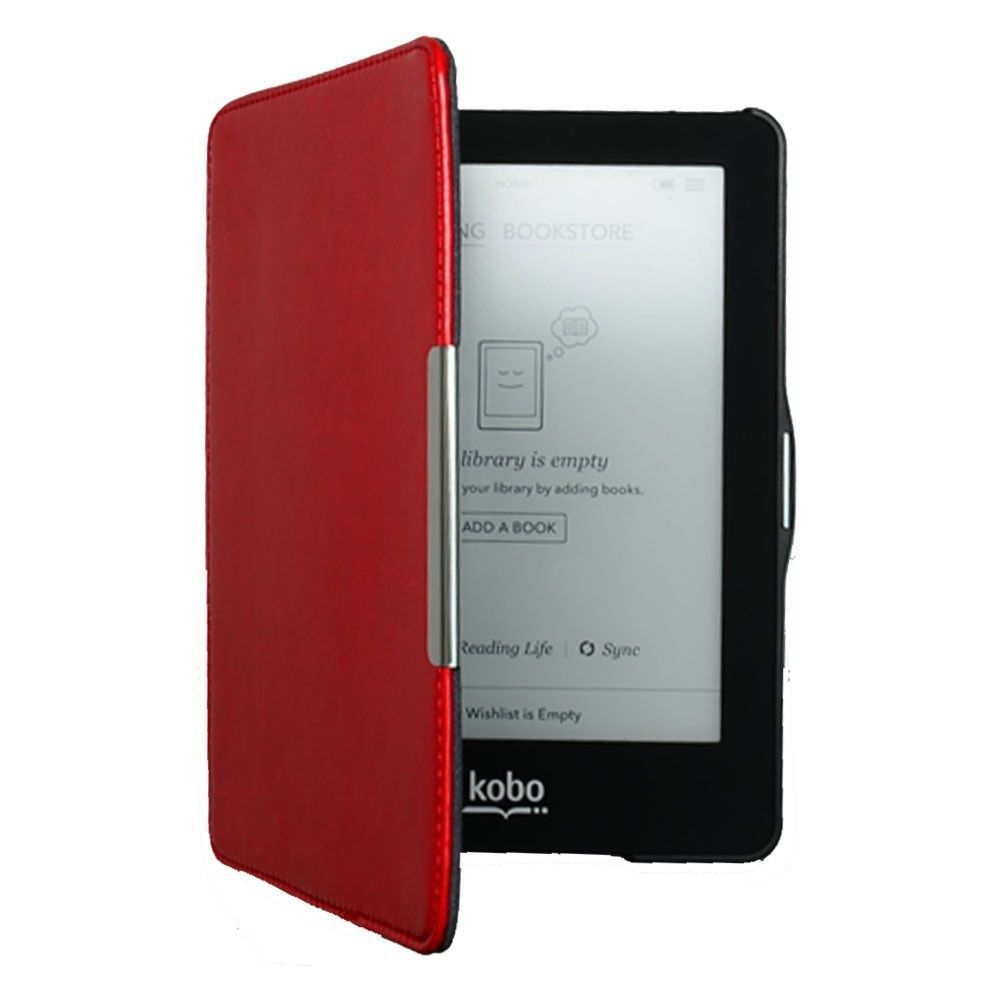 сумка Power Red орифлейм отзывы : Hard case magnetic cover kobo glo hd red