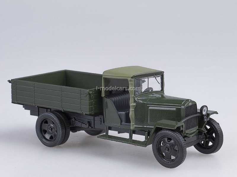GAZ-MM 1941 dark green 1:43 Nash Avtoprom