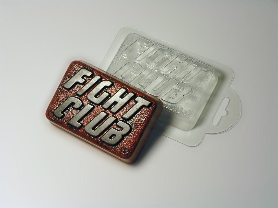 Бойцовский клуб Форма для мыла