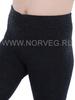 Термоколготки из шерсти мериноса Norveg Multifunctional Grey детские