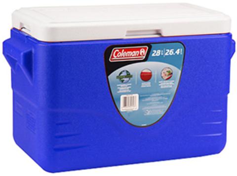 Термоконтейнер Coleman Chest 28 QT (голубой)