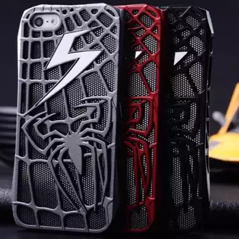 Чехол бампер Spider Man для Apple iPhone 6, 6 plus