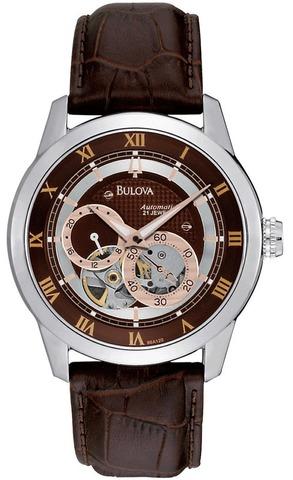 Купить Наручные часы Bulova Automatic 96A120 по доступной цене