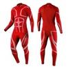 Раздельный лыжный комбинезон Noname Dragos red