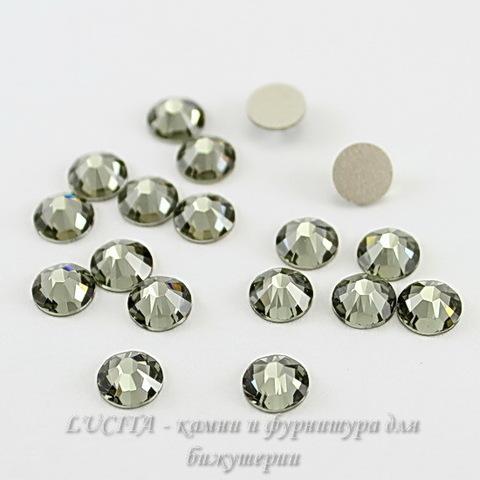 2028/2058 Стразы Сваровски холодной фиксации Black Diamond ss30 (6,32-6,5 мм)