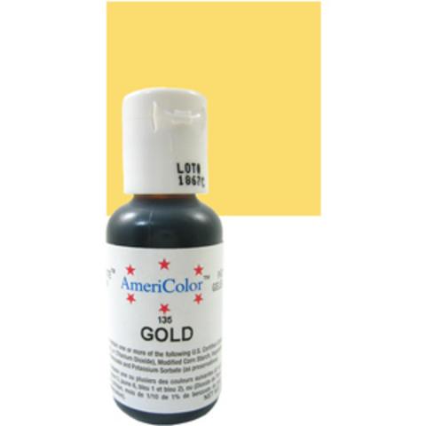 Краска краситель гелевый GOLD 135, 21 гр