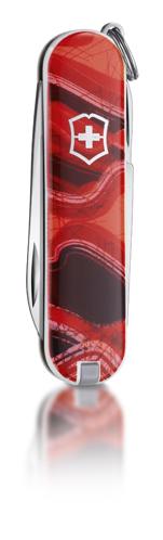 """Нож-брелок Victorinox Classic LE 2011, 58 мм, 7 функ, """"Sunset Hills""""  (0.6223.L1102)"""