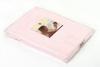 Элитный плед детский Lux 1169 розовый от Luxberry
