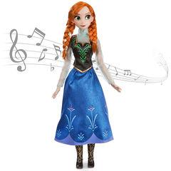 Поющая Анна Холодное сердце кукла 40 см