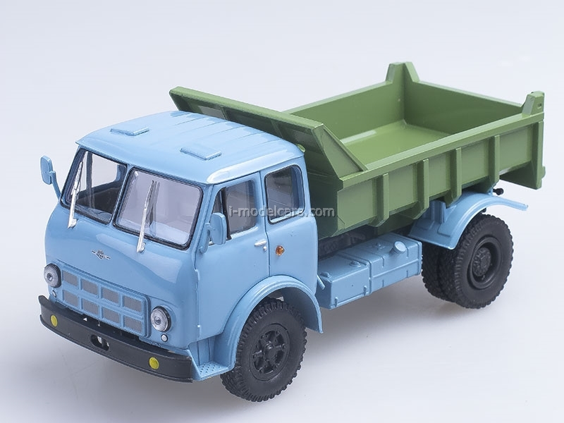 MAZ-503A tipper 1970 blue-green 1:43 Nash Avtoprom