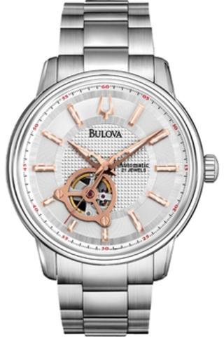 Купить Наручные часы Bulova Automatic 96A143 по доступной цене