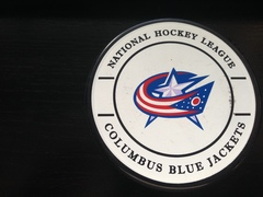 Шайба сувенирная GUFEX NHL Columbus Blue Jackets