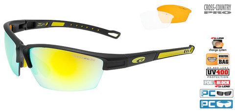 Солнцезащитные очки goggle COLLOT black