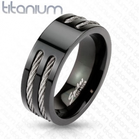 Титановое кольцо SPIKES R-TM-3653