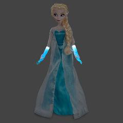 Поющая Эльза Холодное сердце кукла 40 см