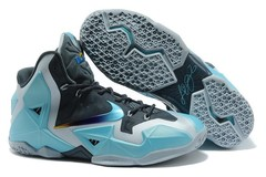 Кроссовки Мужские Nike Lebron 11 Elite Black Blue