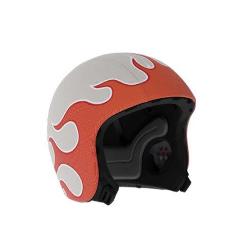 Огонь. Скин для шлема EGG