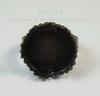 Основа для кольца с сеттингом с филигранным краем для кабошона 15 мм (цвет - античная медь) ()