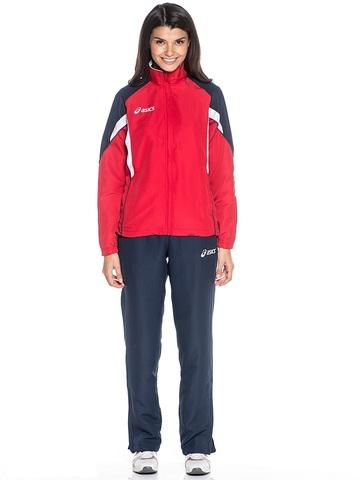 Костюм спортивный женский ASICS SUIT AURORA красный