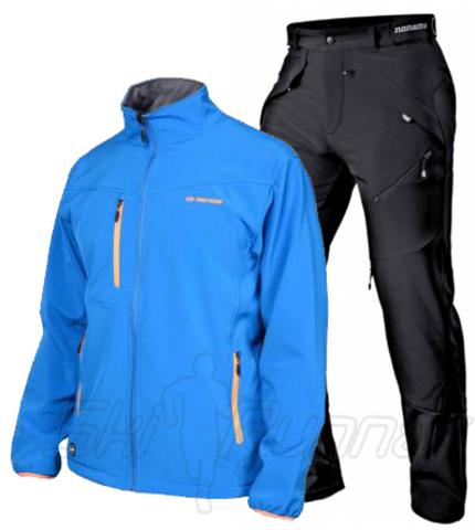 Мужской лыжный утепленный костюм Mormaii Grassi M1347 Pure Blue