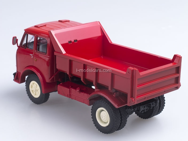 MAZ-503A tipper 1970 red 1:43 Nash Avtoprom