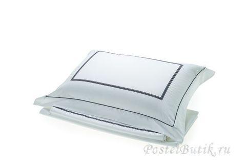 Постельное белье 2 спальное евро макси Hamam Marine белое