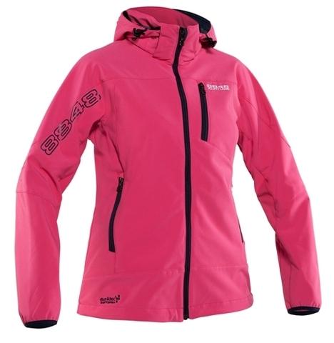 Куртка SOFTSHELL 8848 Altitude ROWENA женская CERISE