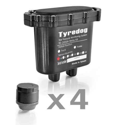 Датчики давления в шинах (TPMS) Carax CRX-1012/4 с 4-я датчиками