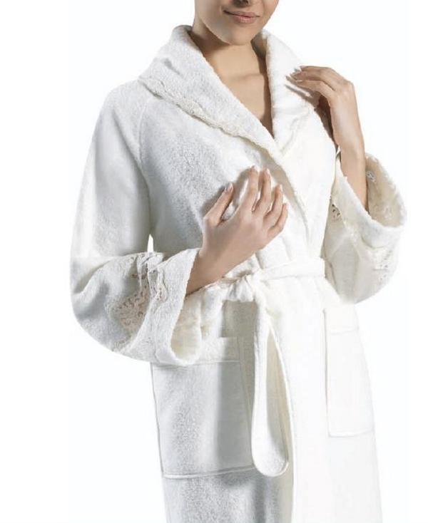 Элитный халат махровый Tanya от Timas
