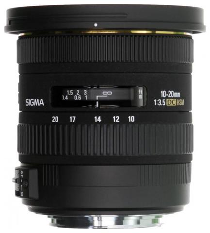 Sigma AF 10-20mm f/3.5 EX DC HSM Canon EF-S