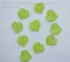Акриловый листик салатовый 16х15 мм ,10 штук ()