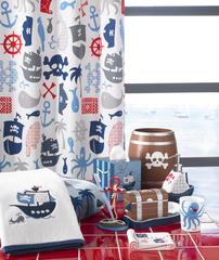 Элитная шторка для ванной детская Pirates от Kassatex