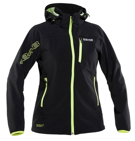 Лыжная Куртка SOFTSHELL 8848 Altitude ROWENA женская BLACK