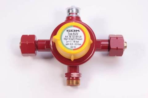 Автоматический переключающий клапан  (эконом) (GOK)