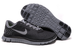 Кроссовки Nike Free Run 4.0 V2 Black Gray