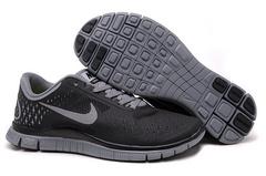 Кроссовки Женские Nike Free Run 4.0 V2 Black Gray
