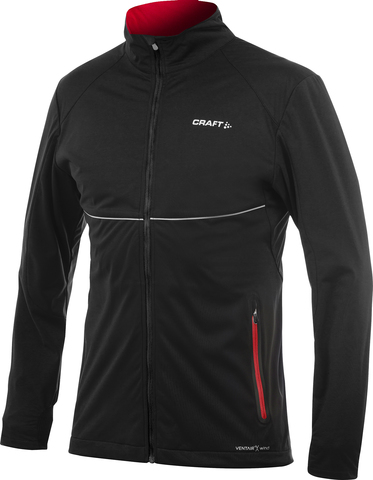 Куртка Craft PXC Light Softshell Black