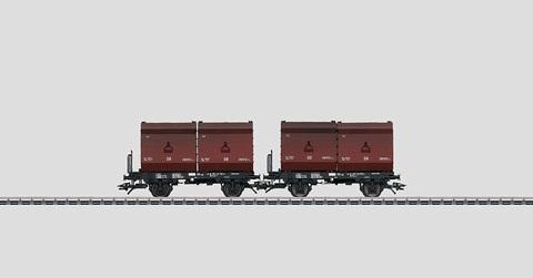 48274 Marklin Набор из двух вагонов для перевозки угля Fb-zz 131