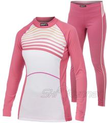 Комплект термобелья Craft Active Multi Color Pink женский